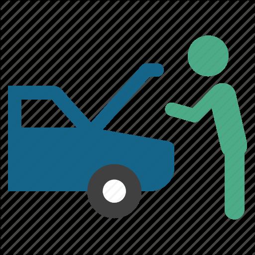 Accident, Automobile, Car, Default, Fail, Motor, Problem Icon
