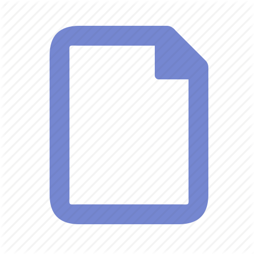 Default, Document, File, Page, Paper Icon