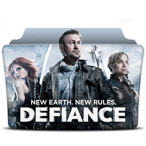 Defiance Icon Tv Series Folder Pack Iconset