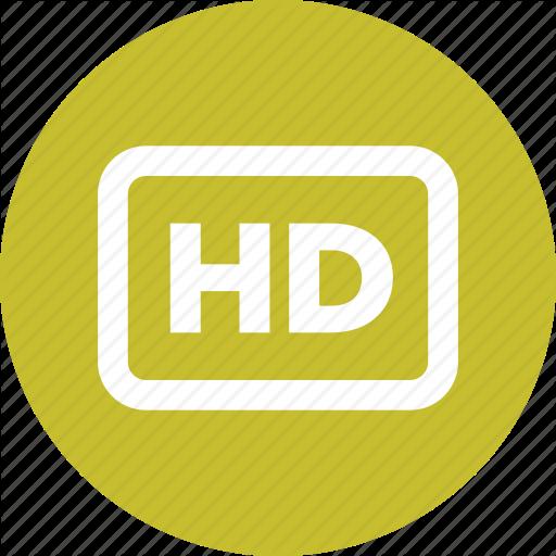 Def, Hd, Hi Def, High, High Definition, Media Icon