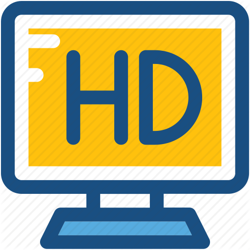 Display, Hd, Hd Screen, High Definition Screen, Lcd Icon