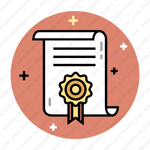 Download Diploma,certificate,degree Icon Inventicons