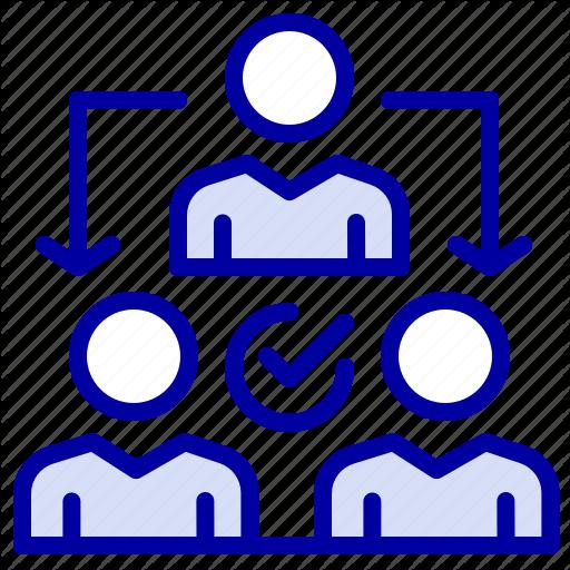 Assignment, Delegate, Delegating, Distribution Icon