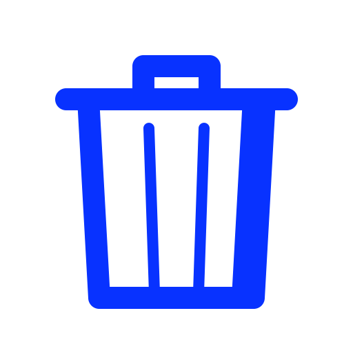Remove, Trash, Bin, Garbage, Delete Icon