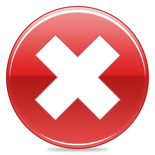 Red Cancel Icon Images