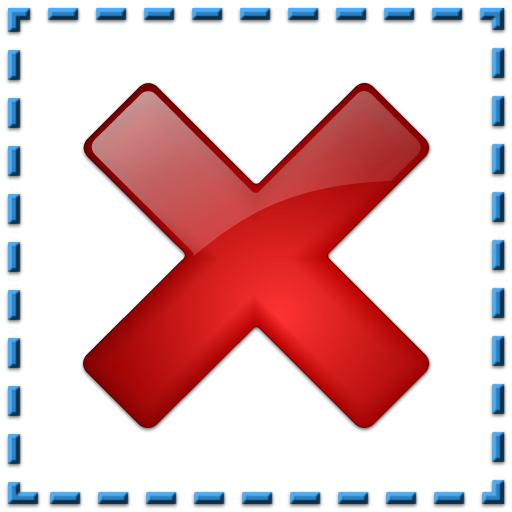Iconexperience V Collection Selection Delete Icon
