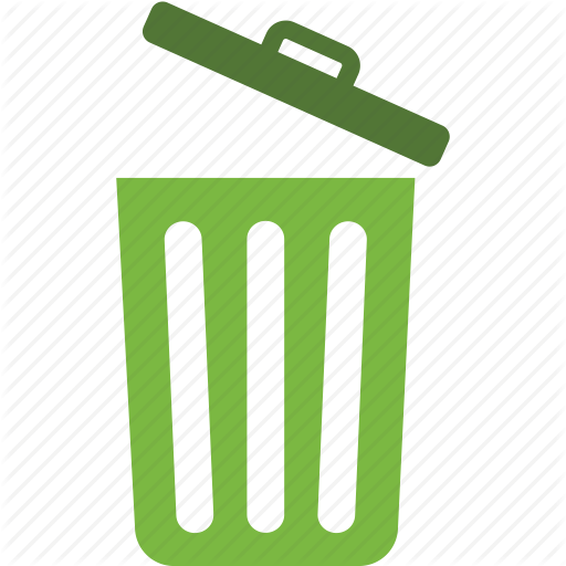 Bin, Delete, Recycle, Remove, Trash, Waste Icon