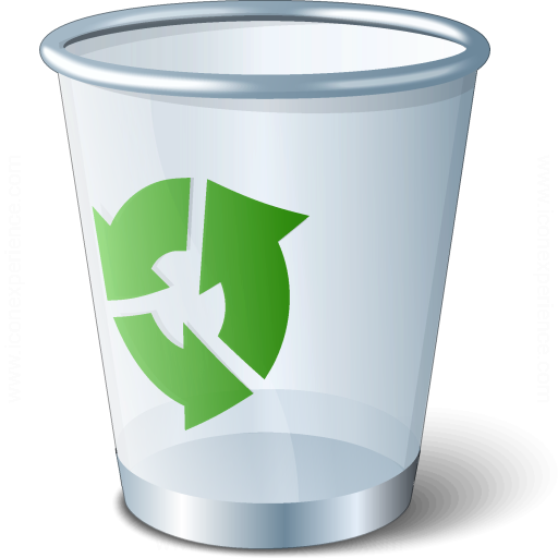 Iconexperience V Collection Garbage Empty Icon