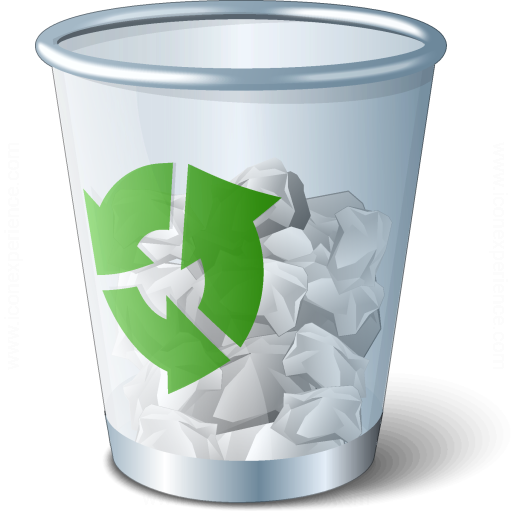 Iconexperience V Collection Garbage Icon