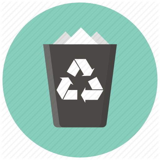 Trash, Recycle, Bin, Delete, Remove, Cancel, Garbage Icon