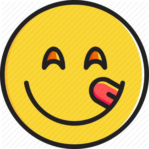 Delicious, Emoticon, Face, Food, Savouring, Smiley Icon