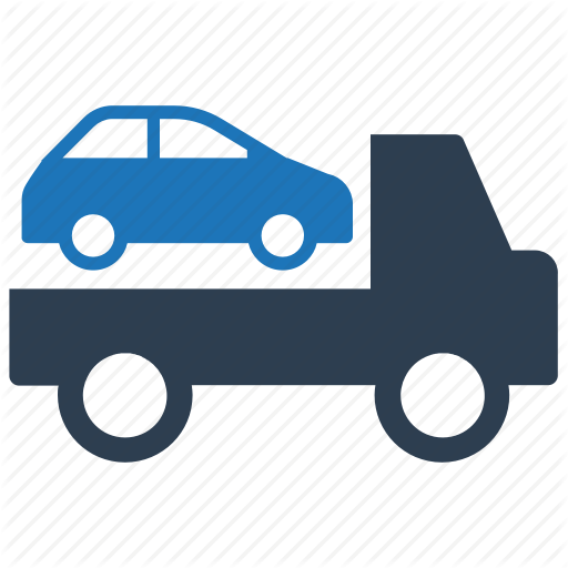 Car, Delivery, Services, Tow, Truck Icon