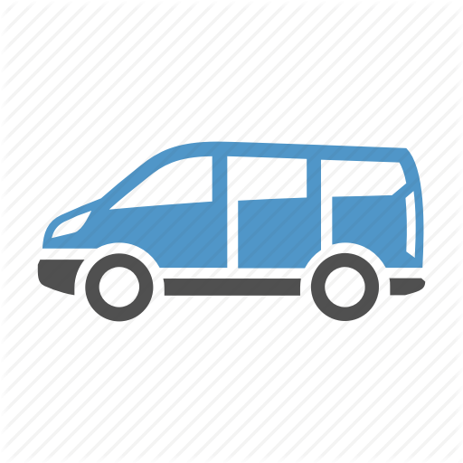 Car, Delivery Van, Shipping, Transport, Vehicle Icon