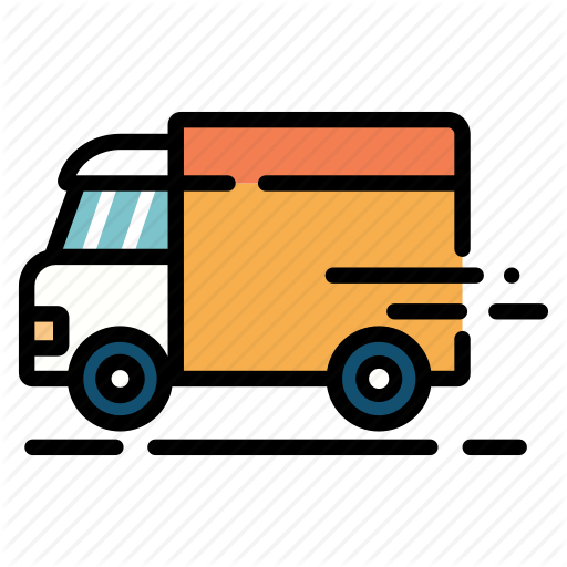 Deliver, Delivery, Package, Postal, Service, Shipping, Truck Icon