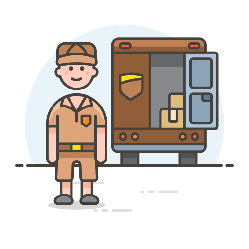 Delivery Truck Icon Streamline Ux Free Iconset Streamline Icons