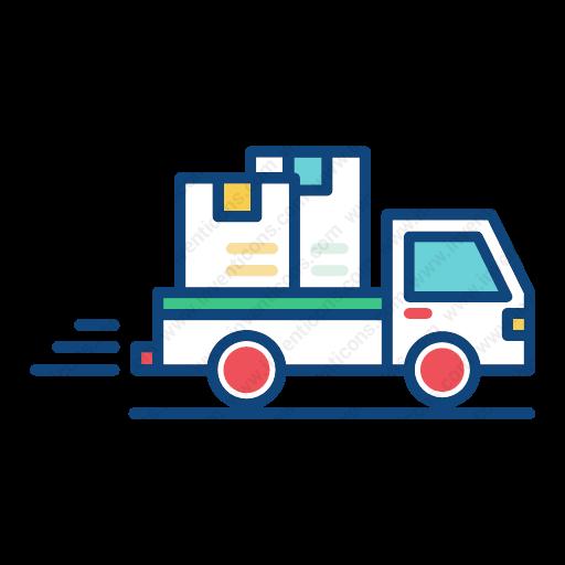 Download Delivery Icon Inventicons