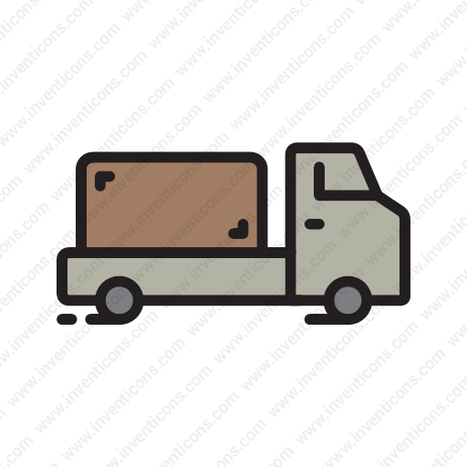 Download Shipping,truck,vehicle,cargo,delivery Icon Inventicons