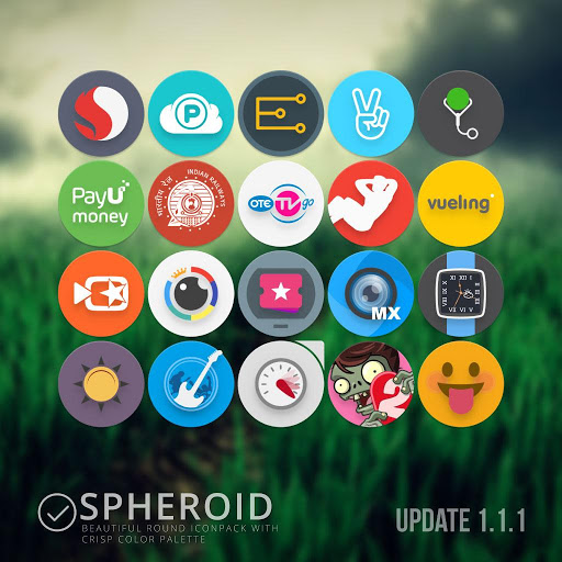 Spheroid Icon Apk