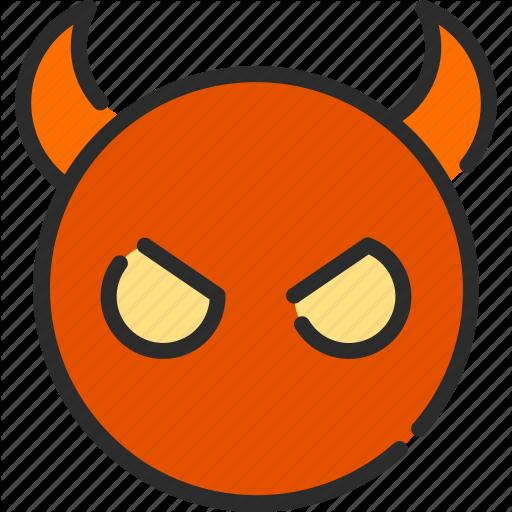 Demon, Devil, Evil, Hell, Satan Icon