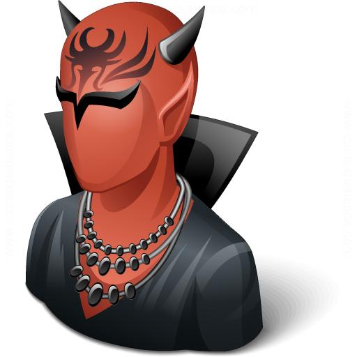 Iconexperience V Collection Devil Icon