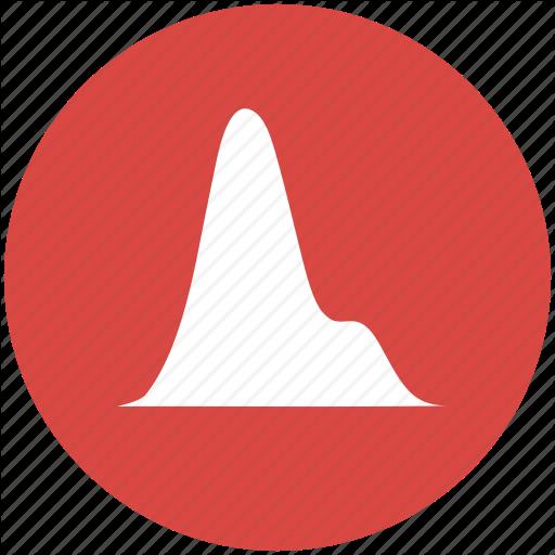 Analysis, Chart, Charts, Curve, Density, Graph, Plot Icon