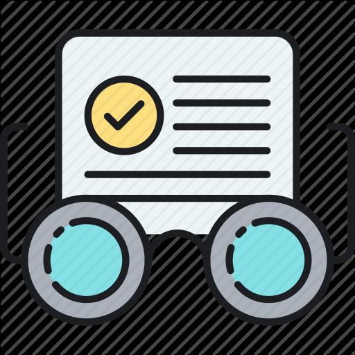 Analysis, Check, Density, Keyword, Measure, Readability, Score Icon