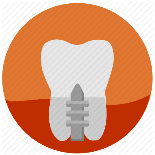 Crown, Dental, Health, Implant, Stomatology, Tooth, Tooth Implant Icon