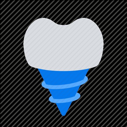 Dental, Implant, Implantation, Tooth Icon