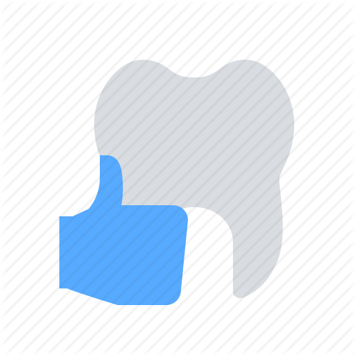 Feedback, Positive, Thumb Up, Tooth Icon