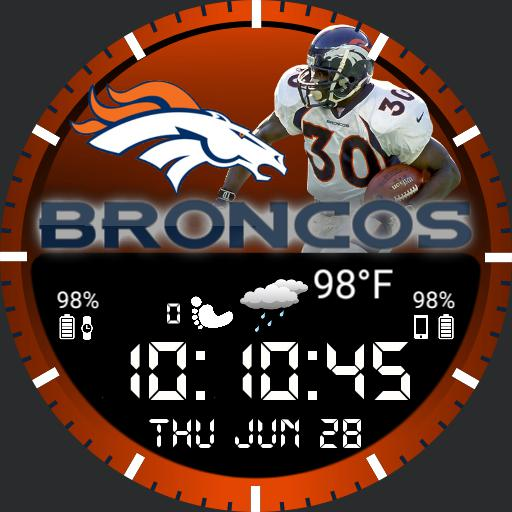 Denver Broncos Watch For G Watch R