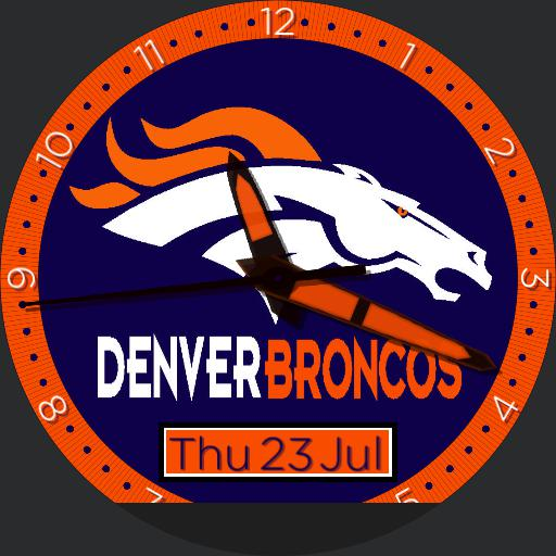 Sports Denver Broncos Watchfaces For Smart Watches