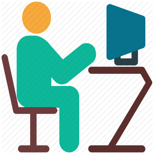 Computer, It Department, Person, User Icon