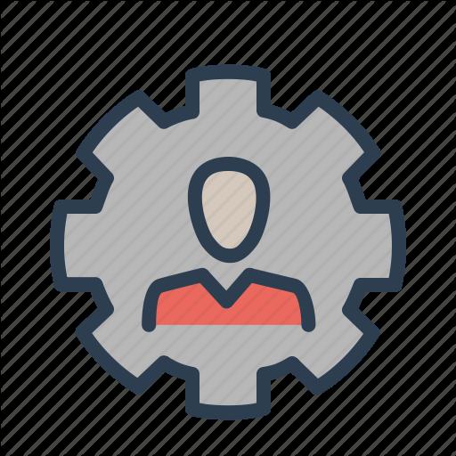 Account, Gear, Settings, User Icon