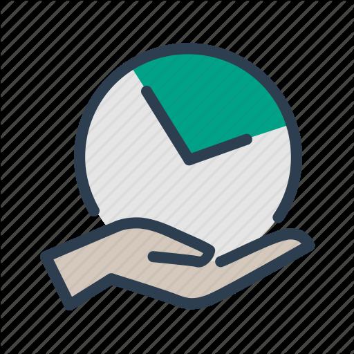Clock, Deadline, Hand, Time Management Icon