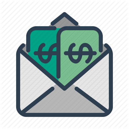 Email, Envelope, Income, Salary Icon