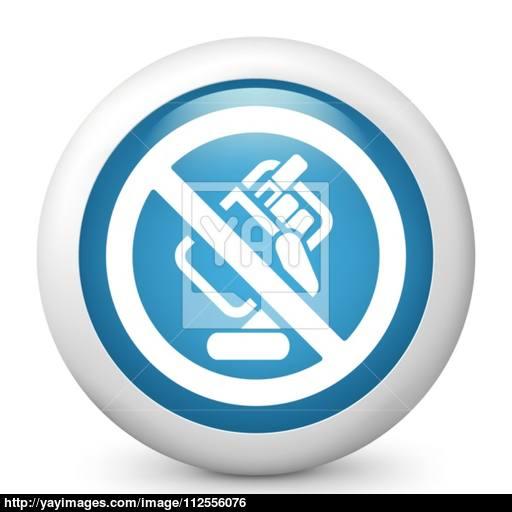 Forbidden Smoke Icon Vector