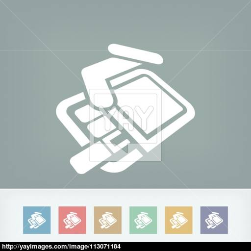 Pack Of Cigarettes Icon Vector