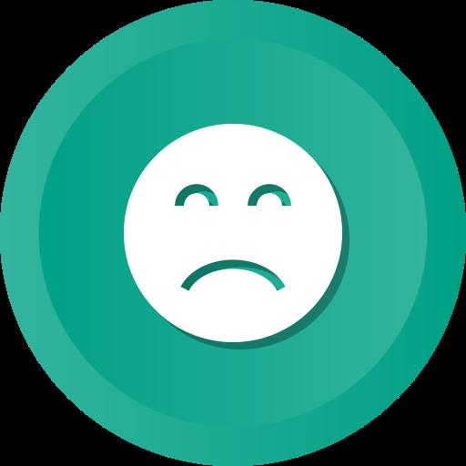 Sad, Frown, Upset, Depression Icon