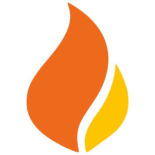 Prometeo Flame Logo Design Logo Sp, Media Design