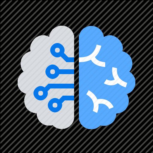 Brain, Creative, Design Thinking, Logic Icon