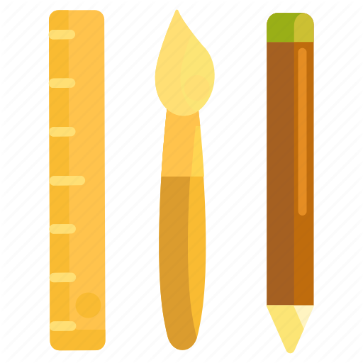 Design, Design Tools, Stationery, Tools Icon
