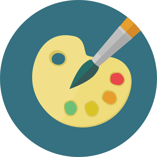 Graphic Design Tools Icon