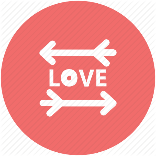 Desire, Directional Arrows, Happiness, Love, Love Word, Passion