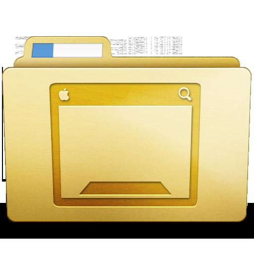 Yellow Desktop Icon