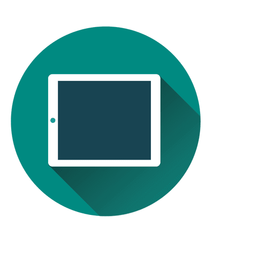 Flat Laptop Icon Design