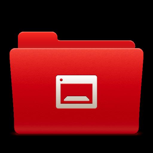 Folder Desktop Icon Soda Red Iconset Trysoda