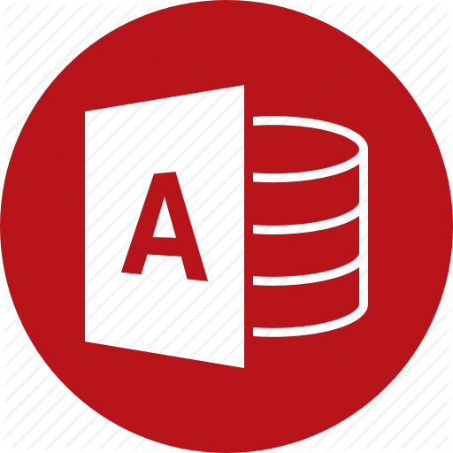 Access, Dbms, Document, File, Format, Microsoft, Type Icon