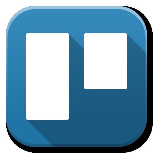 Apps Trello Icon Flatwoken Iconset Alecive