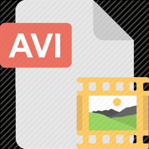Avi, Extension, Format, Type, Image Icon