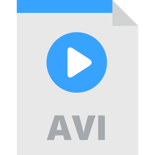 Video, Avi, Interface, And Folders, Extension, Symbol